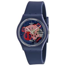 Swatch Jam Tangan Wanita - Resin - Navy - SWATCH GN239