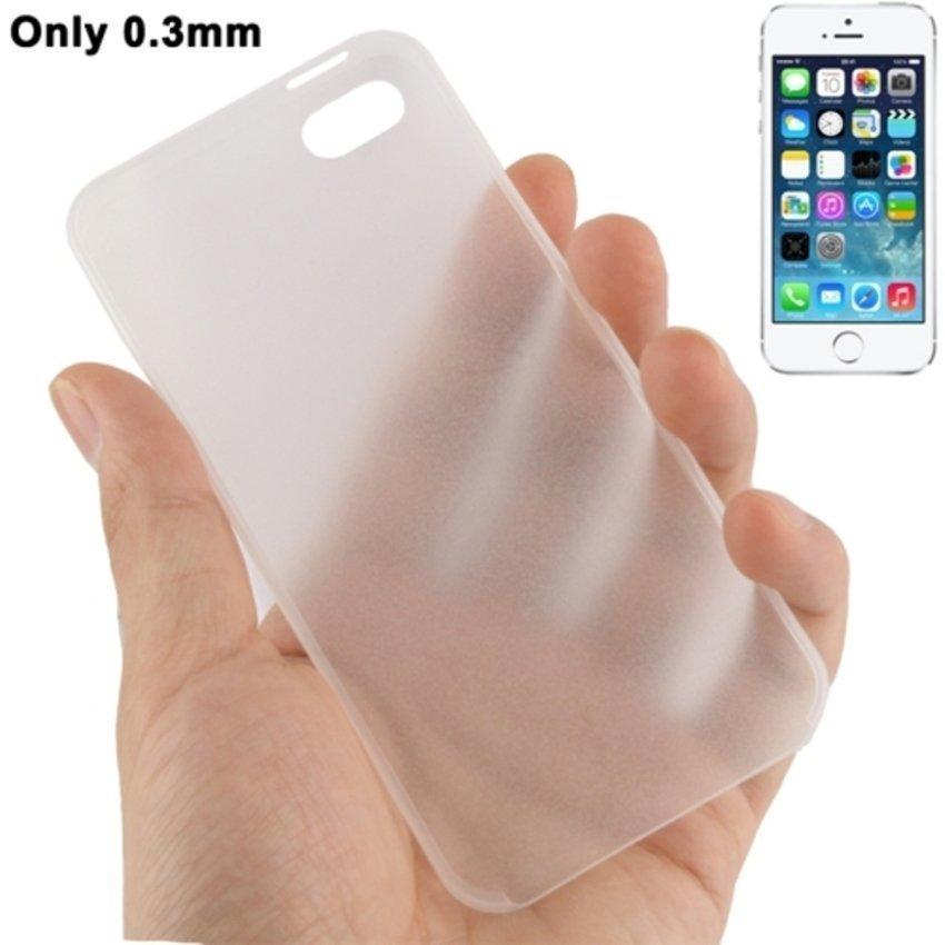 Sweet Corner Ultra Slim Iphone SE / 5S / 5 Case - Transparent