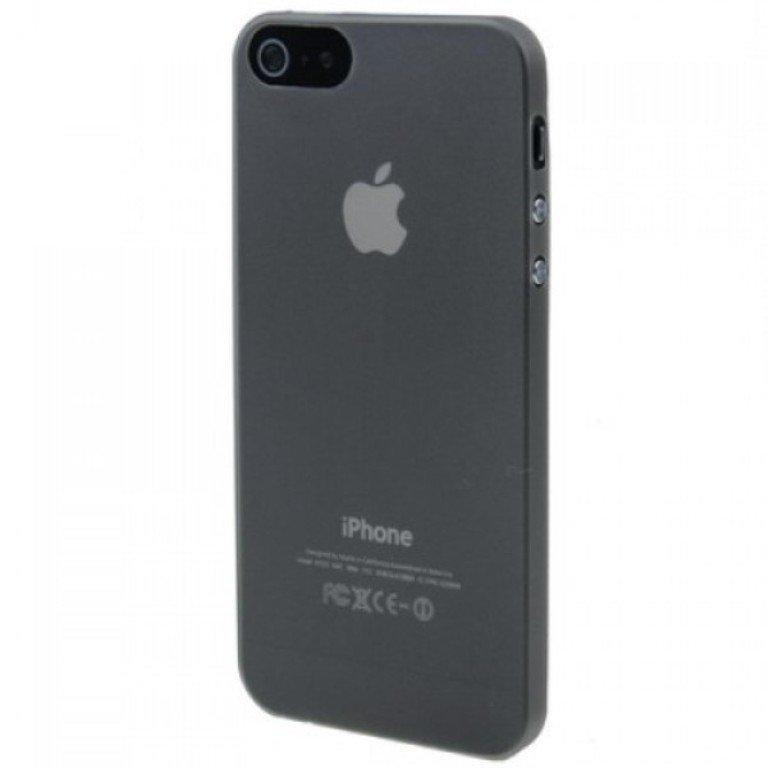 Sweet Corner Ultra Thin iPhone SE / 5S / 5 Case - Hitam
