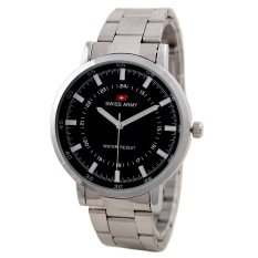 Swiss Army Mens Elegant - Silver - Stainless - SA 5108 SS BL