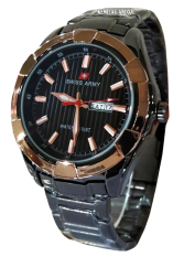 Swiss Army - SA6412M - Jam Tangan Pria - Stainless - Rose Gold