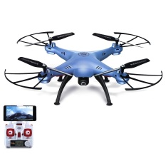Syma Drone X5HW WIFI FPV Kamera HD 2 MP Altitude Hold - Biru
