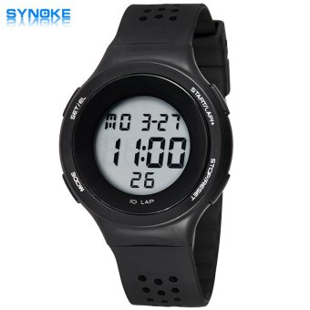 Synoke Multifunctional LED Watch Sports Wristwatch Water Resistance