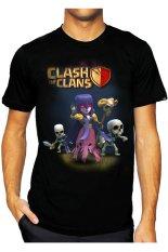 T-Shirt Glory Kaos 3D COC 3 - Hitam