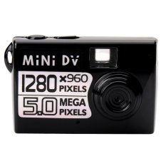 Taff 5MP HD Smallest Mini DV Digital Camera Video Recorder Camcorder Webcam DVR - Hitam