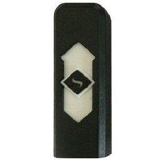 Taff USB Rechargeable Electronic Cigarette Lighter - Hitam-Putih