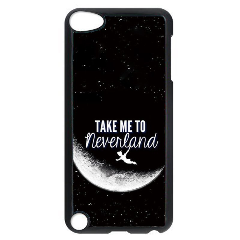Take Me To Neverland Phone Case for iPod Touch 4 (Black)