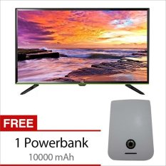 "TCL 48"" - LED FHD TV - Hitam - L48D2700 - Khusus Jabodetabek Free Power Bank 10.000 mAh"