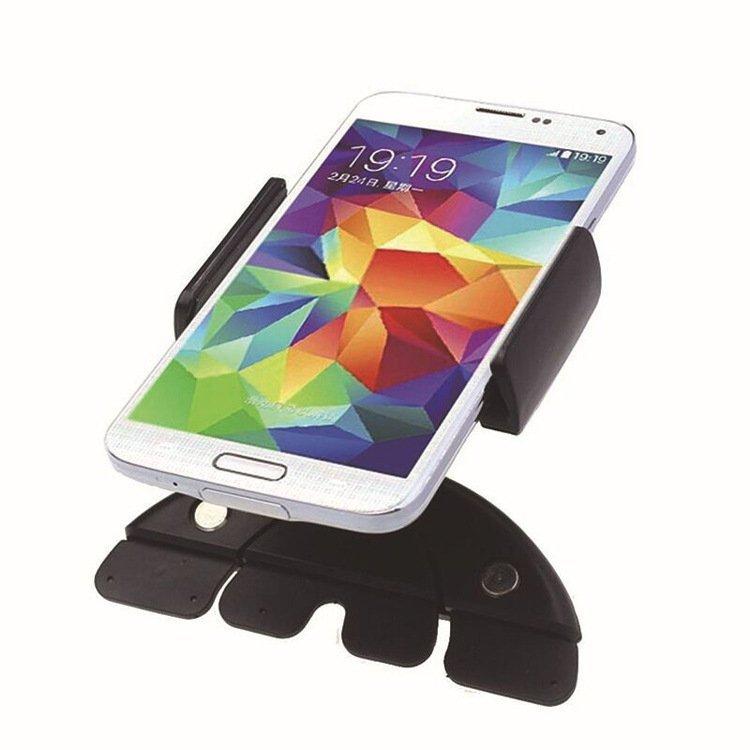 Telephone Car Cd Holder 360 Degrees Flexible Cd (Black) (Intl)