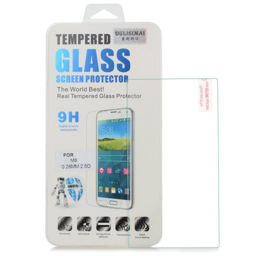 Tempered Glass Screen Protector for HTC One M8 (Intl)