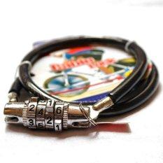 The Cable Lock Combination Key - Kunci sepeda dan Helm / Anti Maling