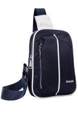 The New Men's Fashion Casual Shoulder Bag Blue