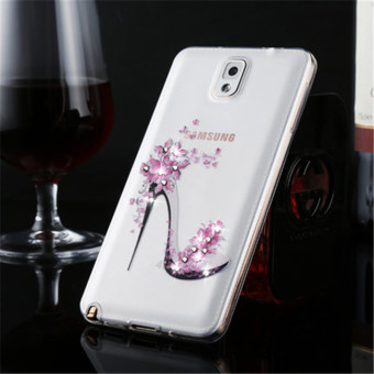 Thin Silicone TPU Transparent Soft Phone Cover Case For Samsung