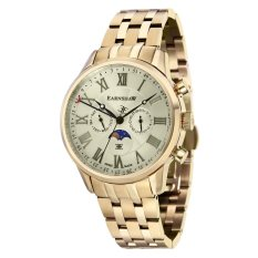 Thomas Earnshaw OFFICER ES-0017-33 Men's Ionic Plating - Gold Solid Bracelet Watch