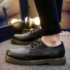 Tidog New England Bullock Shoes Leather Shoes To Trend Of Korean Shoes - Intl
