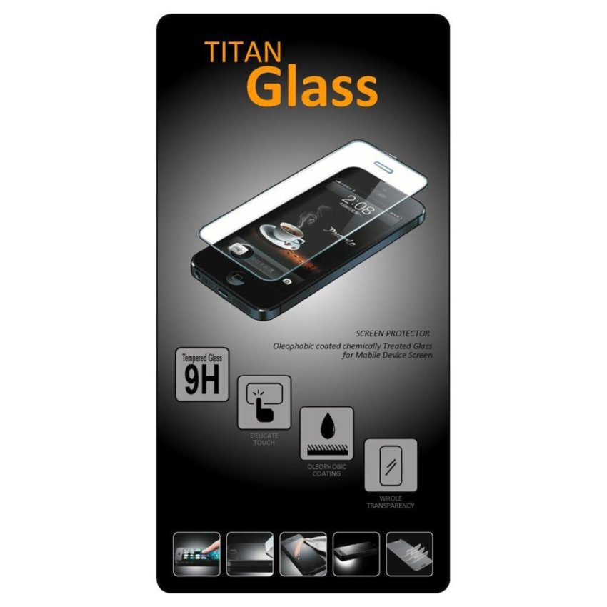 Titan Glass Tempered Samsung Galaxy A7 - Premium Tempered Glass - Anti Gores - Screen Protector