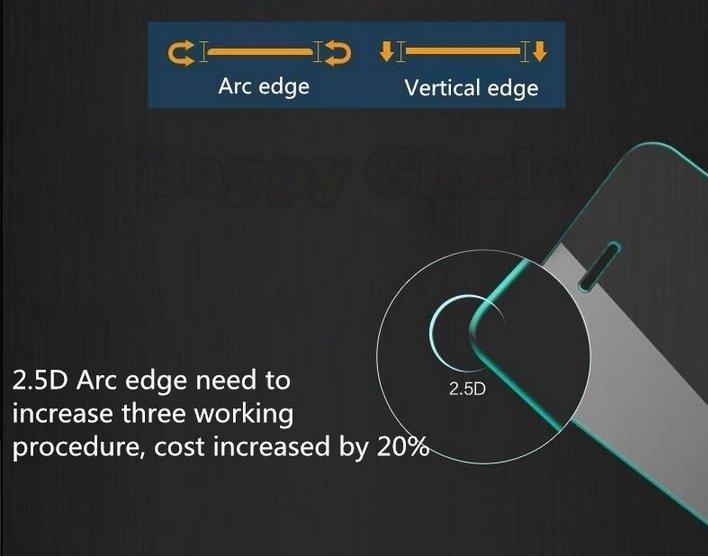 Titan Glass untuk Motorola Moto E - Premium Tempered Glass - Rounded Edge 2.5D