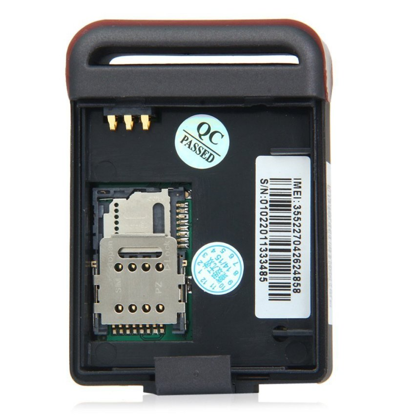 TK102B Car Vehicle GPS GSM GPRS Tracker with SOS Over-speed Alarm (Intl) (Intl)