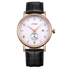 Toobony Sinobi New Authentic Thin Male Table Fashion Watches, Men's Belt Strap Calendar Watch