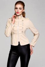 Toprank Autumn Women's Slim Zipper Jacket Parka Winter Jacket Women Coat Casual Plus Size - Intl