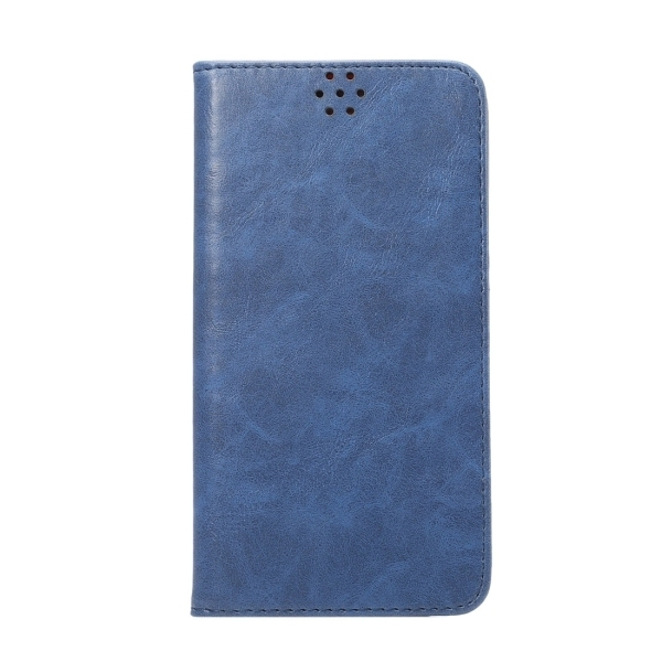 TPU PU Flip Leather Cross Texture Horizontal Cover with Card Slots Wallet Holder for Huawei Ascend Mate 8 (Blue) (Intl)