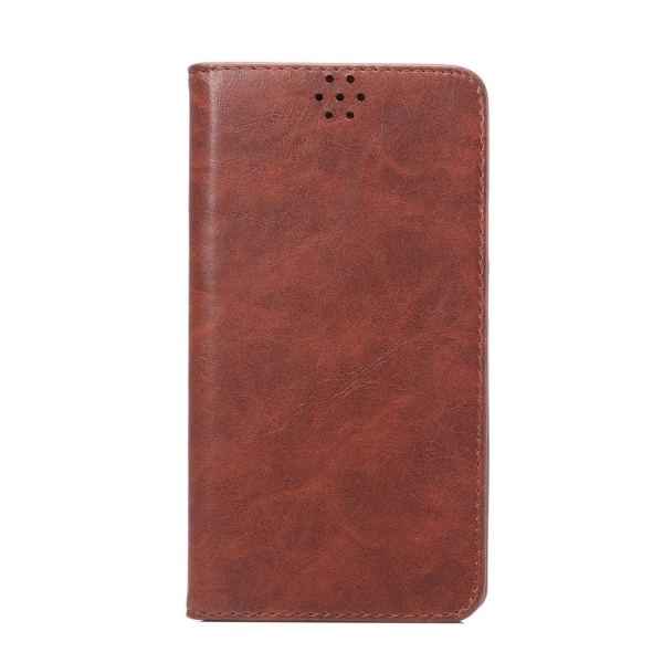 TPU PU Flip Leather Cross Texture Horizontal Cover with Card Slots Wallet Holder for Huawei Ascend Mate 8 (Coffee) (Intl)