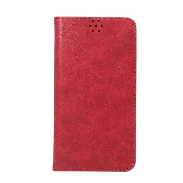 TPU PU Flip Leather Cross Texture Horizontal Cover with Card Slots Wallet Holder for Huawei Ascend Mate 8 (Red) (Intl)