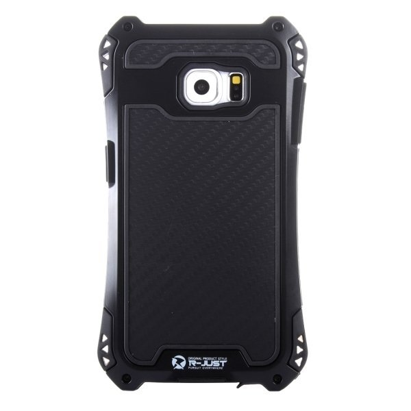 Transformers Style Carbon Fibre Metal Protective Case for Samsung Galaxy Note 5 / N920(Black) (Intl)
