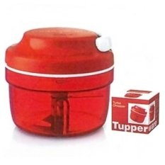 Tupperware Turbo Chopper Pemotong Makanan - Merah