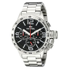 TW Steel Men's CB8 Analog Display Quartz Silver Watch (Intl) - Intl