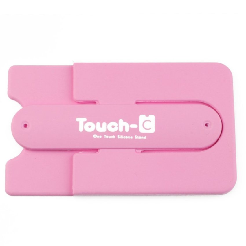 U-Shaped Phone Card Backing (Pink)