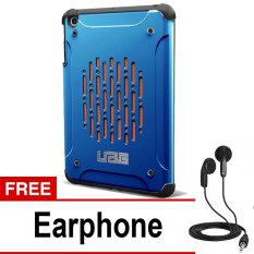 UAG Case for Ipad MIni 1 Urban Armor Gear - Biru + Gratis Earphone