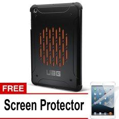 UAG Case for Ipad MIni 1 Urban Armor Gear - Hitam + Gratis Screen Protector
