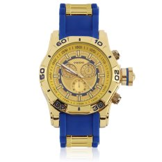 UINN New Cool Fashon Men's Quartz Watch Large Dial Silicone Band Wristwatch