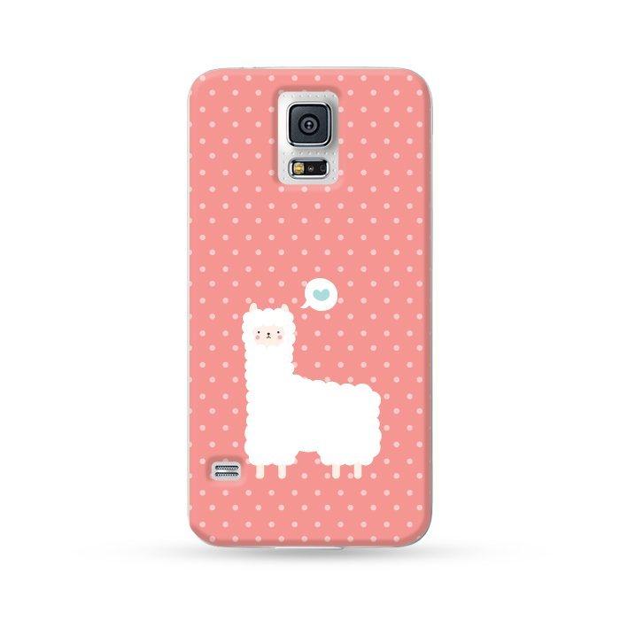 Ultra Case Samsung Galaxy S5 Hard Case Alpaca Red