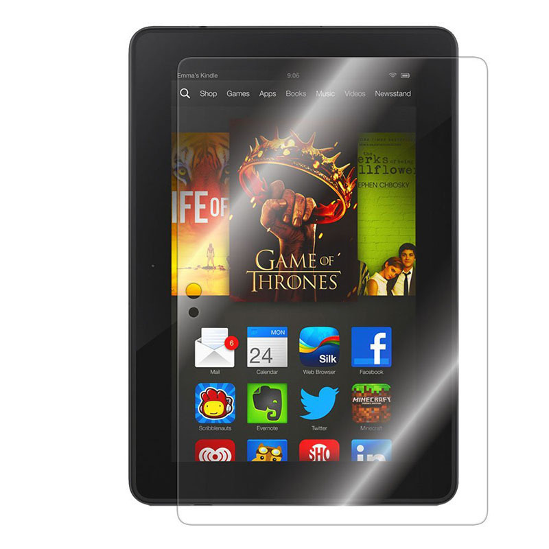 Ultra Clear Screen Protectors for Kindle Fire HDX 7 (Intl)