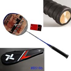 Ultra Light Badminton Racket Carbon Fiber Rackets 3U G4 S518B with Grips and Bag - Intl