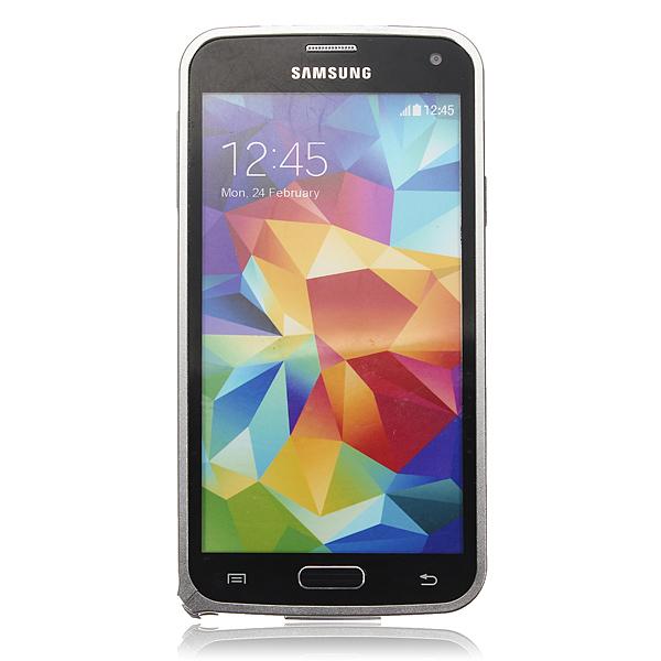 Ultra Thin Aluminum Metal Bumper Frame Case for Samsung Galaxy S5 i9600 G900 (Silver) (Intl)