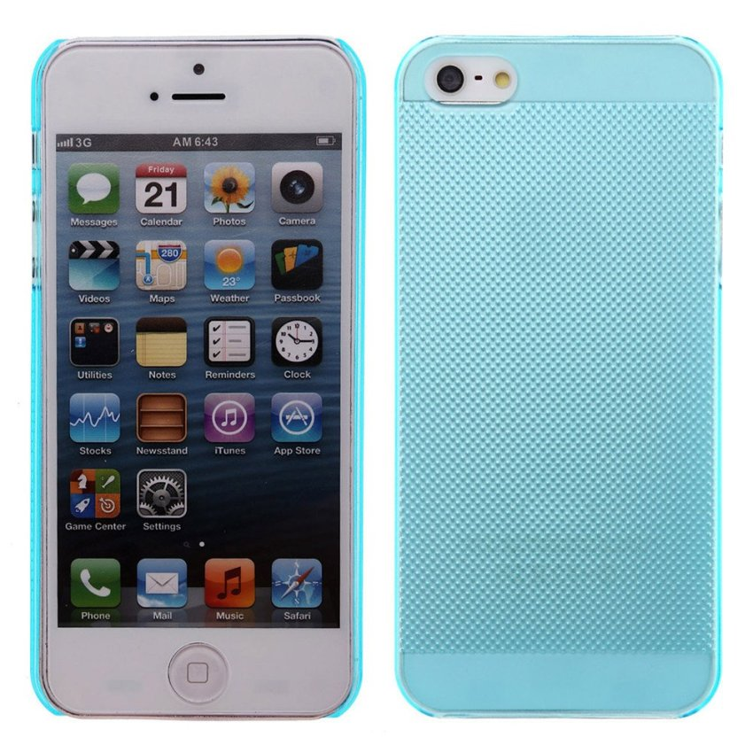 Ultra Thin Case Cover Protector for iPhone SE / 5S / 5 Blue