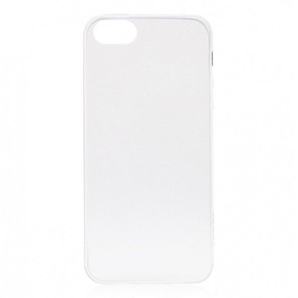 Ultra Thin for Iphone SE / 5S / 5 - Putih Transparan