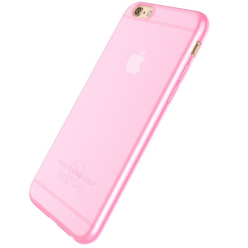 Ultra Thin Slim Matte frosting Transparent Protective Cover Case for iPhone 5/5S Moblie Phone Shell/Cases Transparent + pink (Intl)