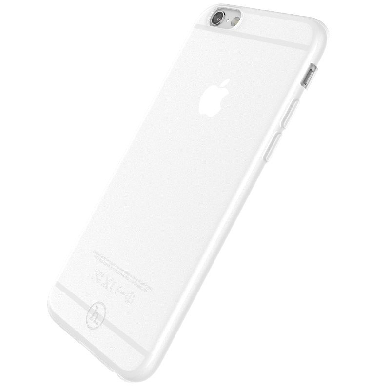 Ultra Thin Slim Matte frosting Transparent Protective Cover Case for iPhone 5/5S Moblie Phone Shell/Cases Transparent + white (Intl)