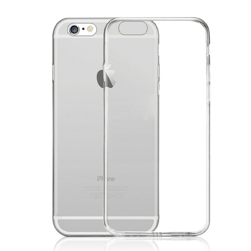 Ultra Thin Soft TPU Transparent Case for iPhone 6/6S/6S Grey (Intl)
