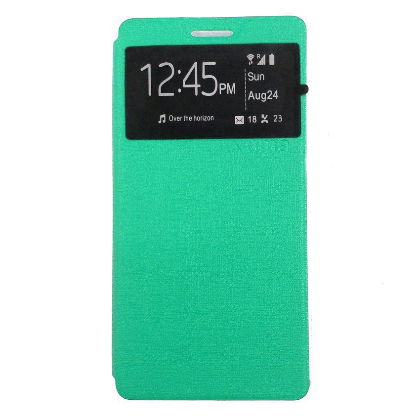 Ume Accessories Hp for Samsung Galaxy J1 Flip Cover - Hijau