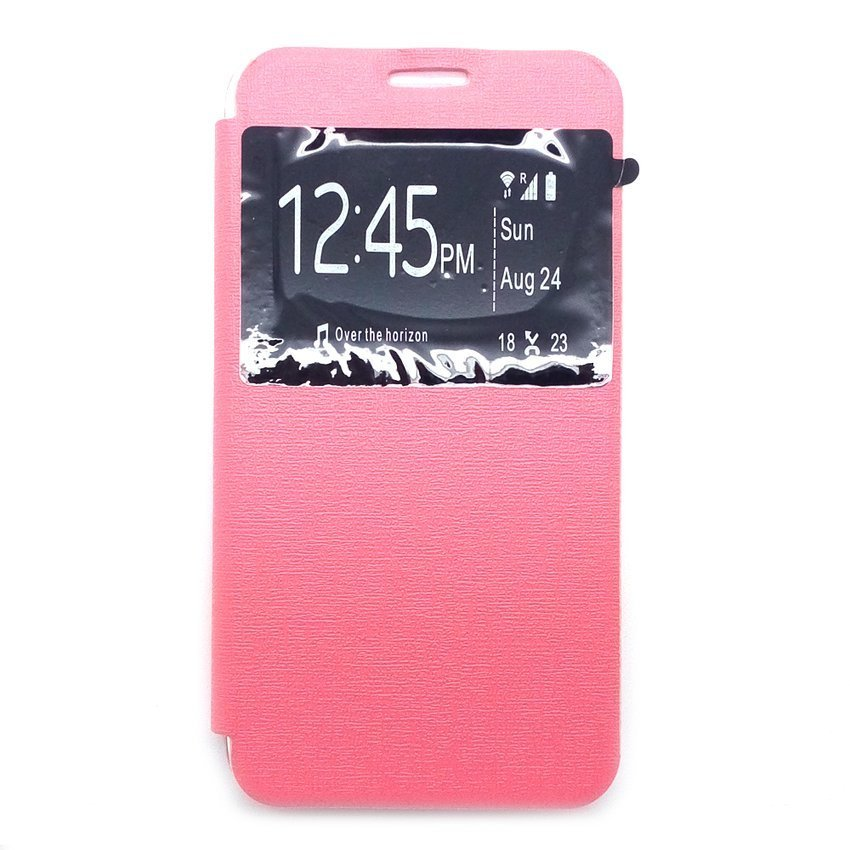 Ume Flip Cover For Asus Zenfone Go 4.5 Inch - Pink