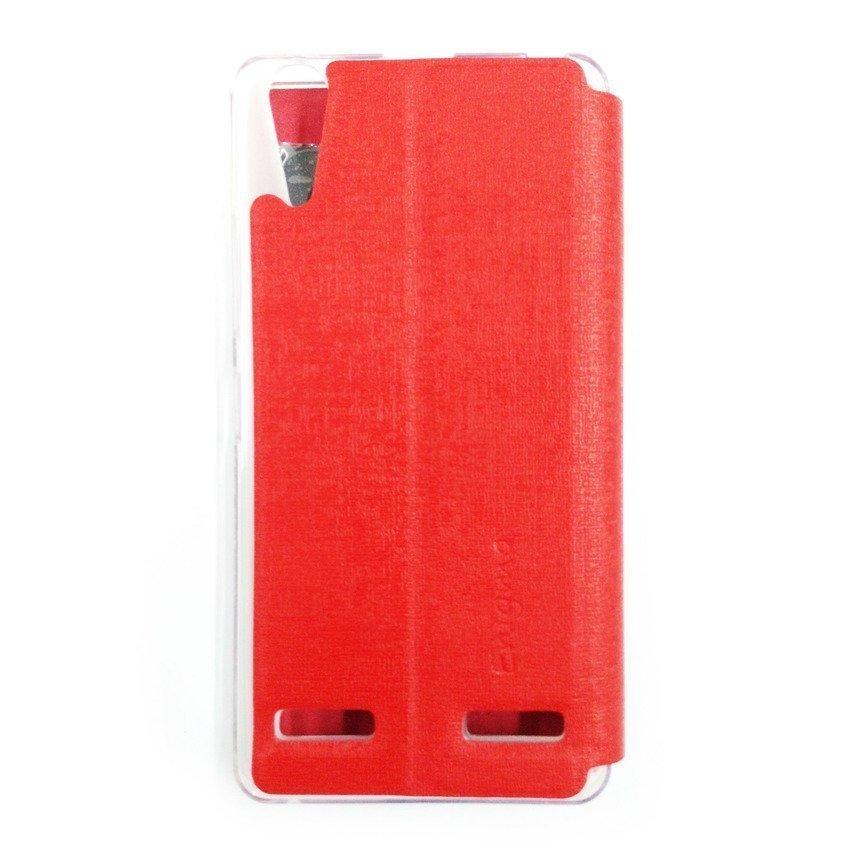 Ume Flip Cover for Lenovo A6000 - Merah