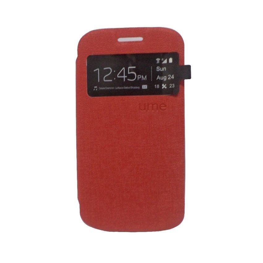 Ume Flip Cover for LG G3 Stylus - Merah