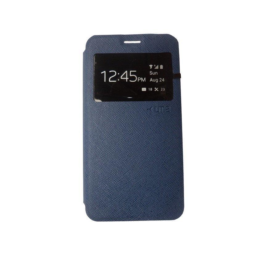 Ume Flip Cover For Xiaomi Redmi 2 - Biru Tua