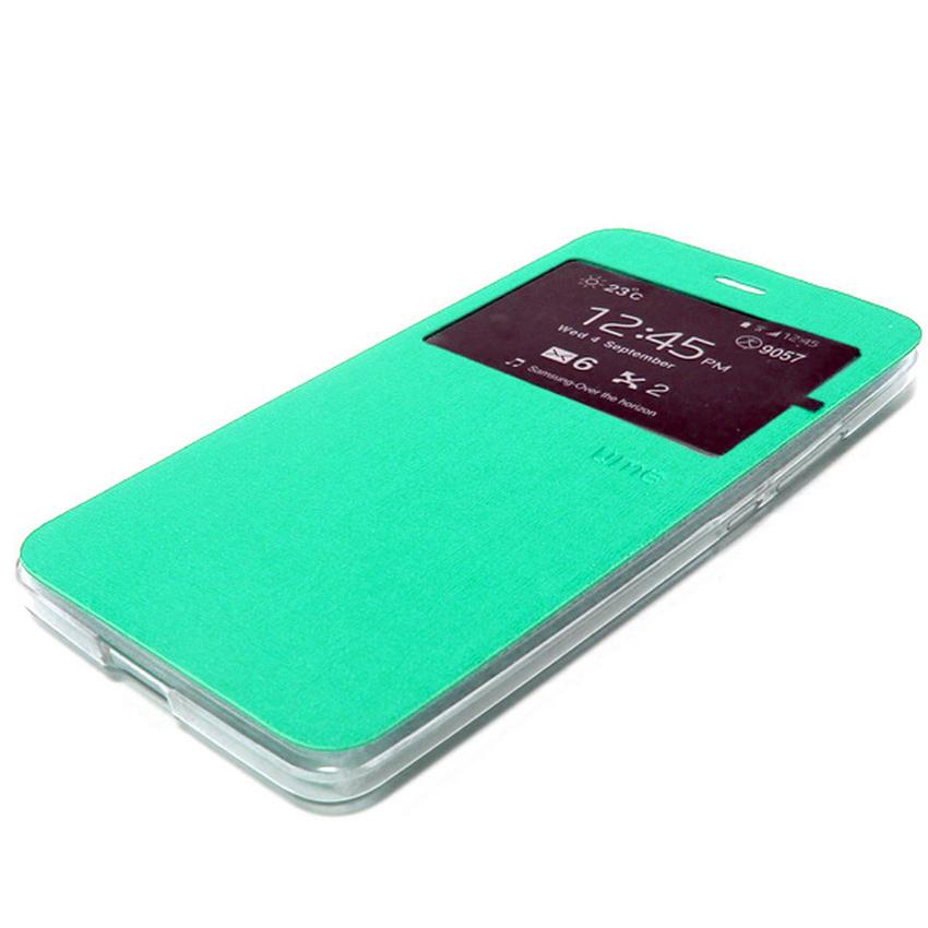 Ume Flip Cover Samsung A7 2016/A710- Hijau Tosca