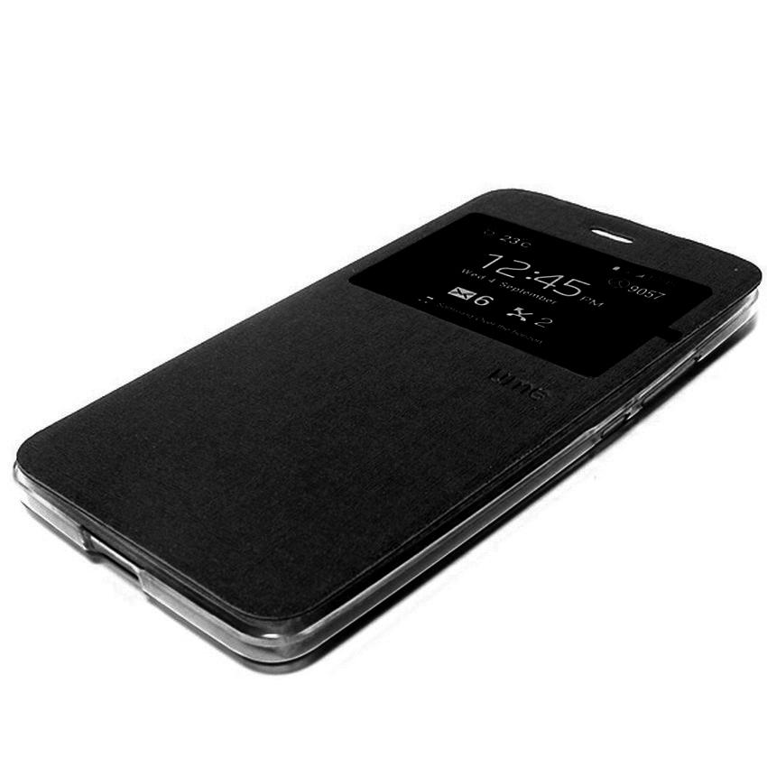 Ume Flip Cover Samsung Galaxy A3 2016/A310- Hitam